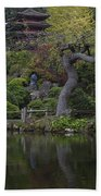 San Francisco Japanese Garden Beach Towel