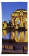 San Francisco Palace Of Fine Arts Theatre Beach Towel