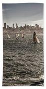 San Francisco Sails Beach Towel
