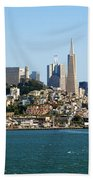San Francisco Skyline Beach Towel