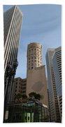 San Francisco Skysrappers Beach Towel