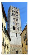 San Frediano Tower Beach Towel