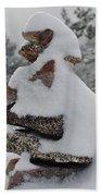San Jacinto Balanced Rocks Beach Towel