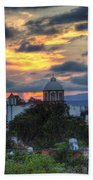 San Miguel De Allende Sunset Beach Towel