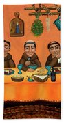 San Pascuals Table Beach Towel by Victoria De Almeida