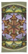 Sanctuary Mandala Beach Towel