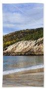 Sand Beach Acadia Beach Towel