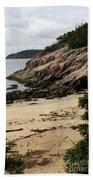 Sand Beach Acadia Park Beach Towel