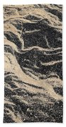 Sand Patterns Beach Towel