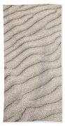 Sand Ripples Natural Abstract Beach Towel