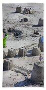Sandcastle Squatters Beach Towel