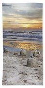 Sandcastle Sunrise Beach Towel