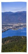 Sandpoint From Trail 3  -  110923-021 Beach Towel