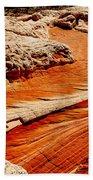Sandstone Highway Beach Towel