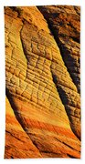 Sandstone Of Time Beach Towel