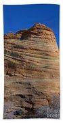 Sandstone Rock Formation Zion National Park Utah Beach Towel