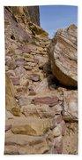 Sandstone Steps Beach Towel