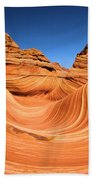 Sandstone Surf Beach Towel by Adam Jewell