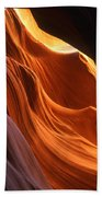 Sandstone Walls Antelope Canyon Arizona Beach Towel