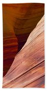 Sandstone Wave Formations Beach Towel