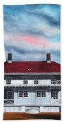 Sandy Hook Lighthouse Beach Towel