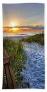 Sandy Trail Beach Towel