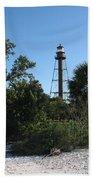 Sanibel Island Lighthouse Beach Towel