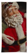 Santa Claus - Antique Ornament - 02 Beach Towel