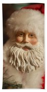 Santa Claus - Antique Ornament - 07 Beach Towel