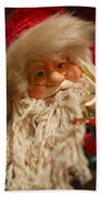 Santa Claus - Antique Ornament - 08 Beach Towel