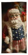 Santa Claus - Antique Ornament - 15 Beach Towel