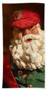 Santa Claus - Antique Ornament - 16 Beach Towel