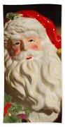 Santa Claus - Antique Ornament - 19 Beach Towel