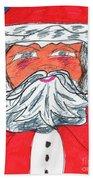 Santa Claus Beach Towel