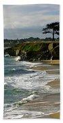 Santa Cruz Beach Beach Towel