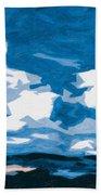 Santa Fe Skies Beach Towel