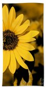 Santa Fe Sunflower 1 Beach Towel