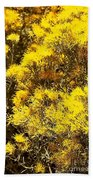 Santa Fe Yellow Beach Towel