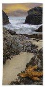 Santa Monica Inlet Beach Towel