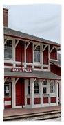 Santa Paula Station Beach Towel