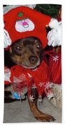 Santa's Helper Beach Towel