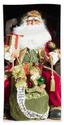 Santa's List Two Beach Towel