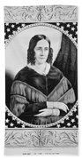 Sarah Childress Polk (1803-1891) Beach Towel