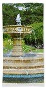 Sarah Lee Baker Perennial Garden 7 Beach Towel