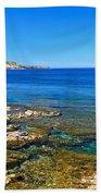 Sardinia - Shore In San Pietro Island Beach Towel