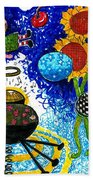Satelite Critters Beach Towel
