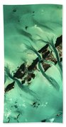 Satellite View Of Cays In North Beach Towel