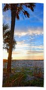 Saturated Sunrise Beach Towel