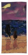 Saturday Seaside Beach Towel