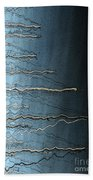 Sausalito Bay California. Stormy. Beach Towel